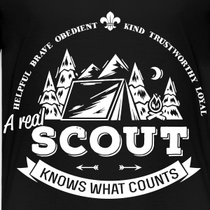 A real scout knows what counts Baby & Toddler Shirts - Toddler Premium T-Shirt