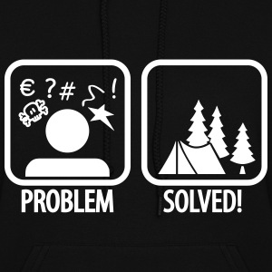 problem solved Hoodies - Women's Hoodie