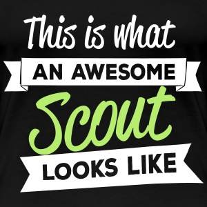 This is what an awesome scout looks like Women's T-Shirts - Women's Premium T-Shirt