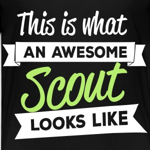 This is what an awesome scout looks like Baby & Toddler Shirts - Toddler Premium T-Shirt