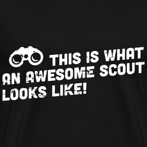 This is what an awesome scout looks like T-Shirts - Men's Premium T-Shirt