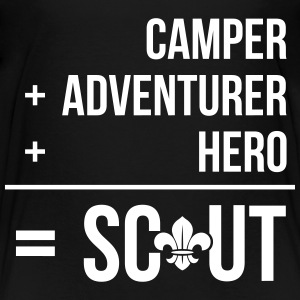 Camper+adventurer+hero = Scout Baby & Toddler Shirts - Toddler Premium T-Shirt