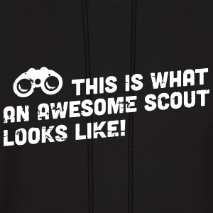 This is what an awesome scout looks like Hoodies - Men's Hoodie