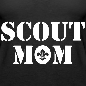 Scout mom Tanks - Women's Premium Tank Top