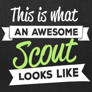 This is what an awesome scout looks like Bags & backpacks - Tote Bag