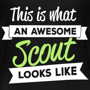 This is what an awesome scout looks like Kids' Shirts - Kids' Premium T-Shirt