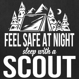 Feel safe at night, sleep with a scout Bags & backpacks - Tote Bag