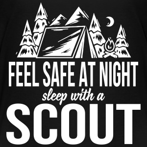 Feel safe at night, sleep with a scout Kids' Shirts - Kids' Premium T-Shirt