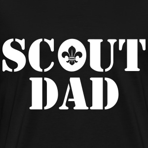 Scout dad T-Shirts - Men's Premium T-Shirt