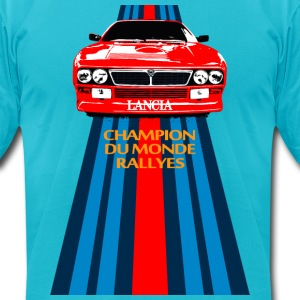 champion du monde T-Shirts - Men's T-Shirt by American Apparel