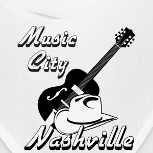 Nashville. Music city Caps - Bandana