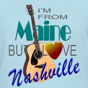 Love Nashville from Maine Women's T-Shirts - Women's T-Shirt