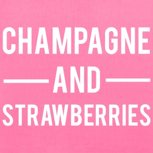 Champagne And Strawberries Bags & backpacks - Tote Bag