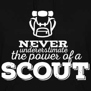 Never underestimate the power of a scout Hoodies - Women's Hoodie