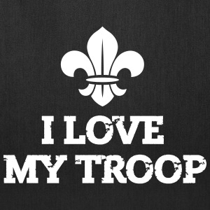 I love my troop Bags & backpacks - Tote Bag
