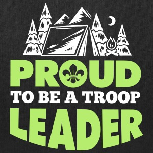 Proud to be a troop leader Bags & backpacks - Tote Bag