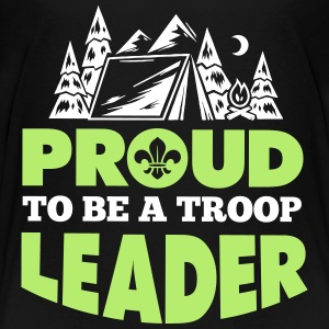 Proud to be a troop leader Kids' Shirts - Kids' Premium T-Shirt