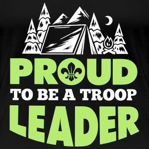 Proud to be a troop leader Women's T-Shirts - Women's Premium T-Shirt