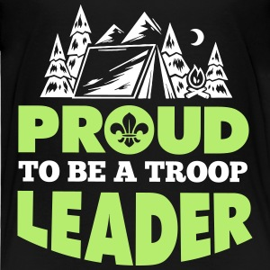 Proud to be a troop leader Baby & Toddler Shirts - Toddler Premium T-Shirt