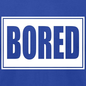 bored,Teenager,Teen - Men's T-Shirt by American Apparel