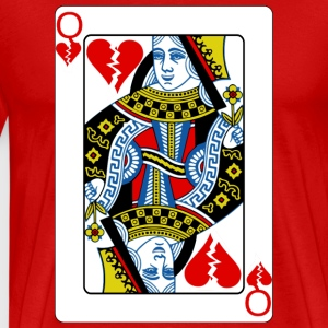 Queen of Broken Hearts T-Shirts - Men's Premium T-Shirt