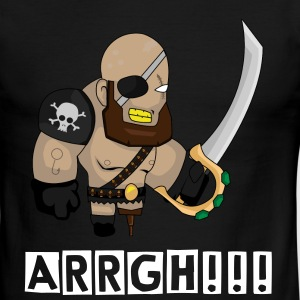 Pirate Arrgh!!! - Men's Ringer T-Shirt