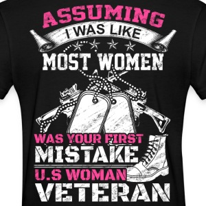 WOMAN VETERAN, veteran mom, veteran marine wife - Women's T-Shirt