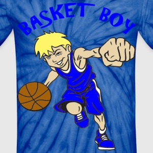 BASKET BOY - Unisex Tie Dye T-Shirt