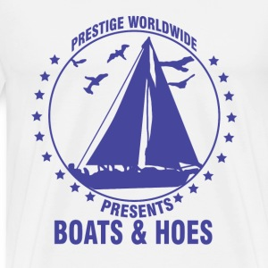 boating, boat, boat captain, boats and hoes, boats - Men's Premium T-Shirt