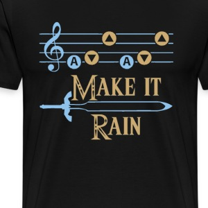 MAKE IT RAIN Foy Vance song - Men's Premium T-Shirt
