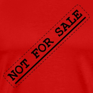 Not for Sale Stamp - Men's Premium T-Shirt