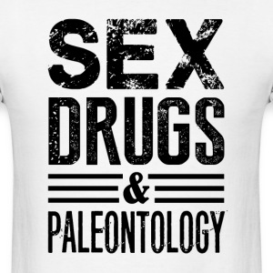 Funny Paleontology - Men's T-Shirt
