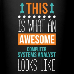 Computer System Analyst Awesome Profession T Shirt Mugs & Drinkware - Full Color Mug