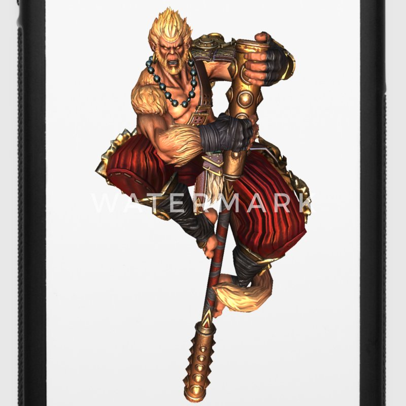 Smite Sun Wukong iPhone 6 Case - iPhone 6/6s Rubber Case