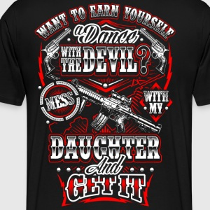 2nd Amendment Daughter - Men's Premium T-Shirt