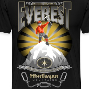 EVEREST - THE MOST DANGEROUS PLACE ON EARTH - Men's Premium T-Shirt