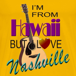 Love Nashville from Hawaii Men's T-Shirts - Men's Premium T-Shirt
