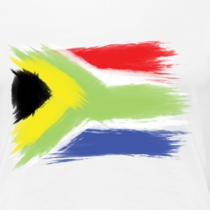 South Africa flag cape to Women's T-Shirts - Women's Premium T-Shirt
