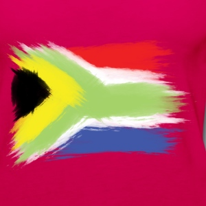South Africa flag cape to Tanks - Women's Premium Tank Top