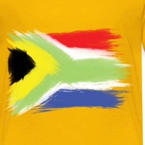 South Africa flag cape to Baby & Toddler Shirts - Toddler Premium T-Shirt