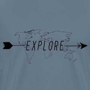 Explore T-Shirt - Men's Premium T-Shirt