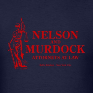 Nelson and Murdock - Men's T-Shirt