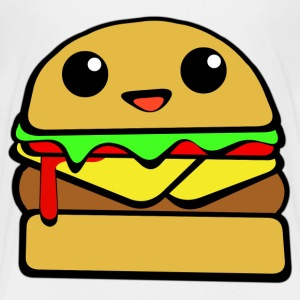 Kawaii Cheeseburger - Kids' Premium T-Shirt