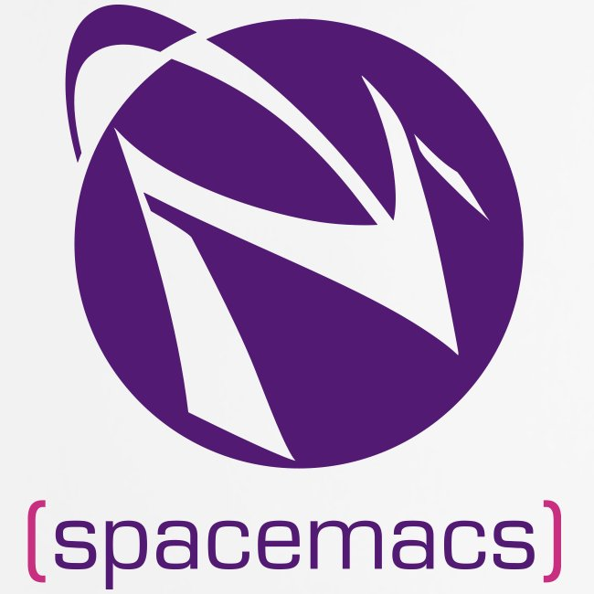 Mouse Pad with Spacemacs Classic Purple Logo