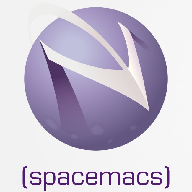Mouse Pad with Spacemacs Full Color Logo