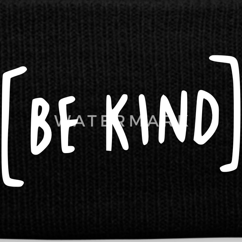 Be Kind Sportswear - Knit Cap with Cuff Print