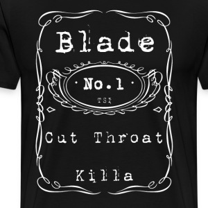 Blade Cut Throat Killa Tee - Men's Premium T-Shirt