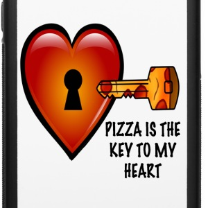 Pizza is The Key iPhone 6 Rubber Case - iPhone 6/6s Rubber Case