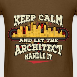 Architect - Keep Calm - Men's T-Shirt