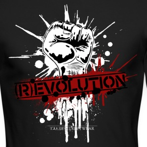 (R)EVOLUTION Long Sleeve Shirts - Men's Long Sleeve T-Shirt by Next Level